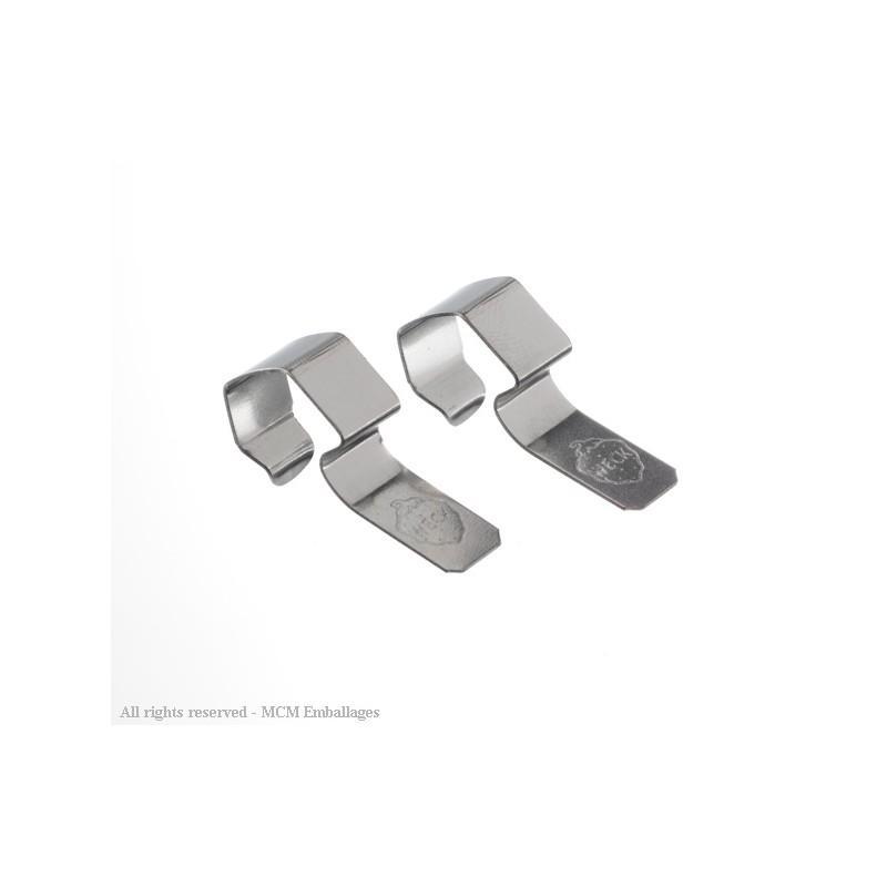 WECK® Accessoire - 24 Weck® klemmen / Clips