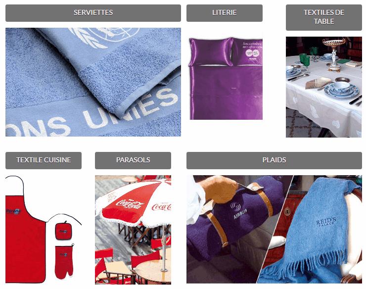 Textiles Sur Mesure - Production d'articles textiles sur mesure