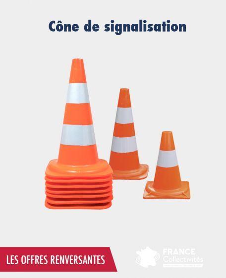 Promo Cone De Signalisation - Balisage De Chantier Et Panneaux Routiers