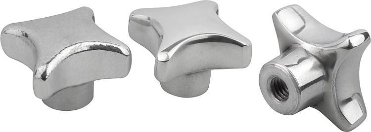 Aluminum Palm Grips, similar to DIN 6335, Style E - K0145_E