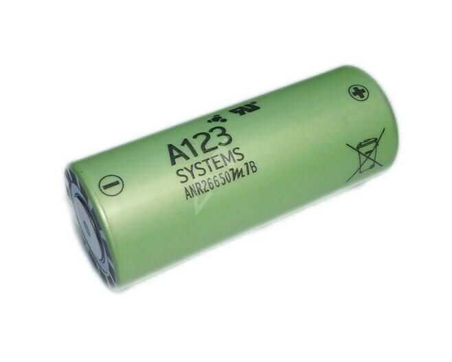 A123 ANR26650M1B 2500mAh 3,3V LiFePo4 Akku - null