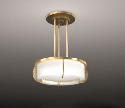 Hanging ceiling light - Model 353 bis S