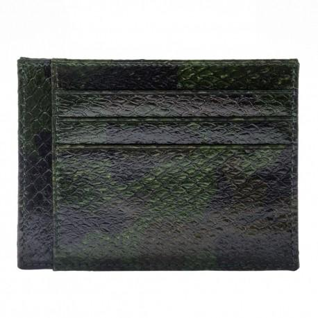 Fish Leather Card Holder -