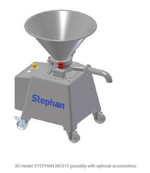 Moulin émulsionneur affineur homogénéisateur - STEPHAN Microcut MC15