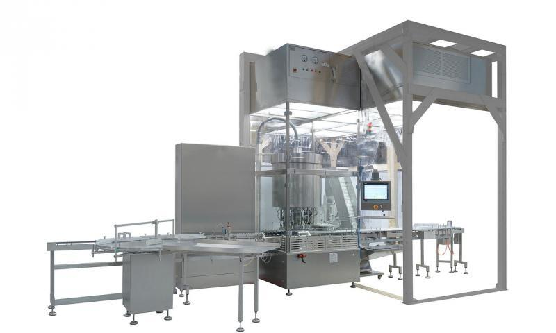 Fully-automatic Closing Machine KUGLER ROTOCAP - Fully-automatic Closing Machine KUGLER ROTOCAP: Bottles