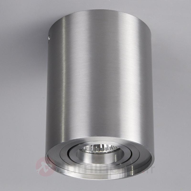 Plafonnier Jolina en aluminium - Plafonniers chromés/nickel/inox