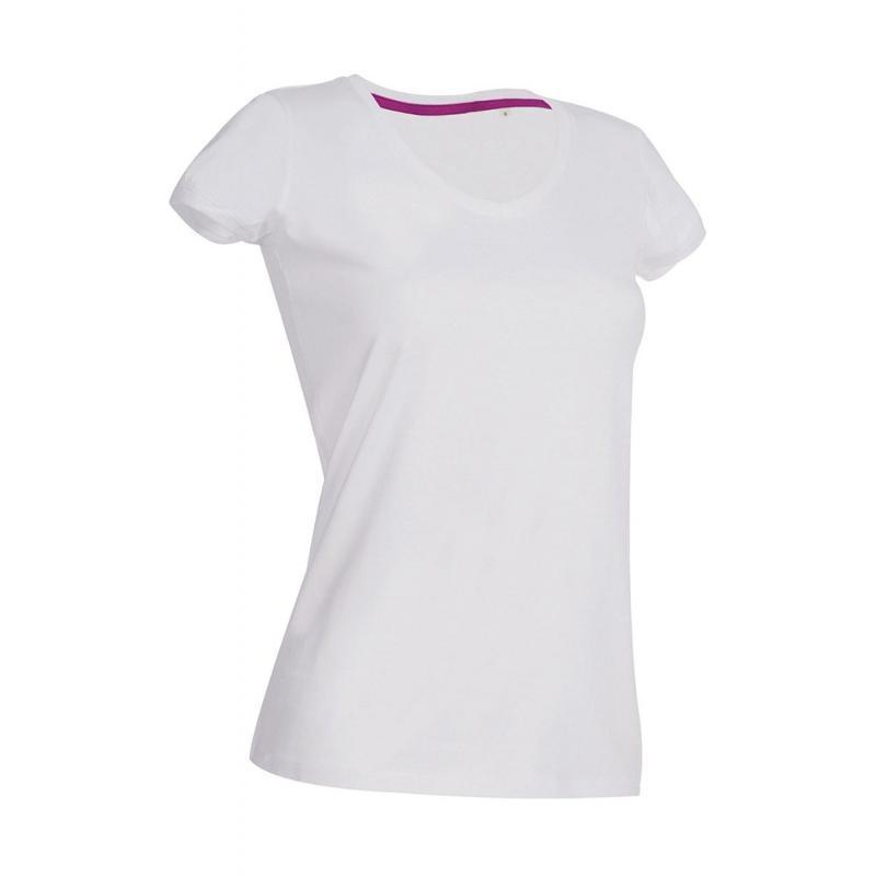Tee-shirt col V Megan - Manches courtes