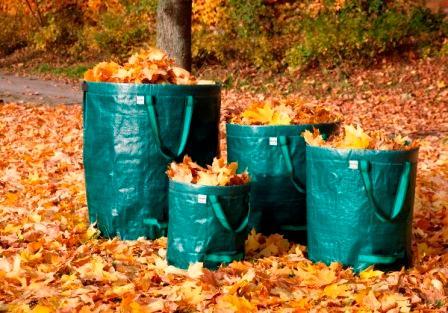 Gartensammler /Gartenabfallsack für Profis - Laubsammler in 4 Größen, extrem stabil