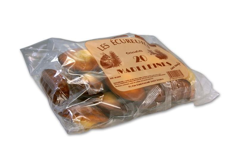 sachet 20 madeleines - Épicerie sucrée