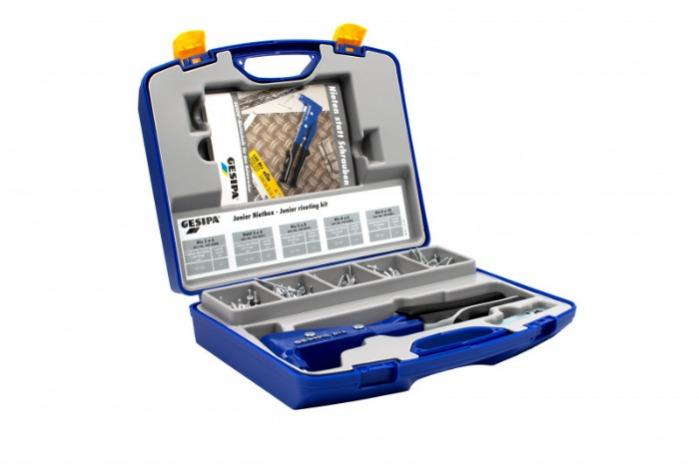 Caja para remachado júnior (Remachadoras manuales) - Kit de remachado