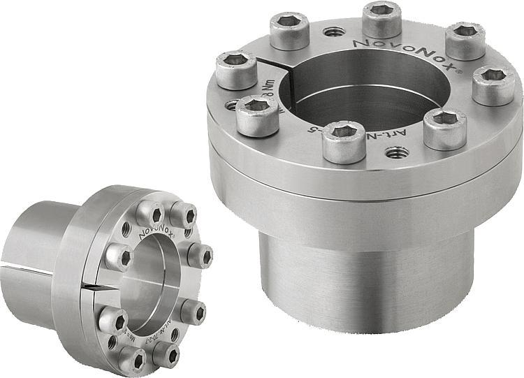 Keyless locking couplings Form A stainless steel - Shaft-hub clamping sets