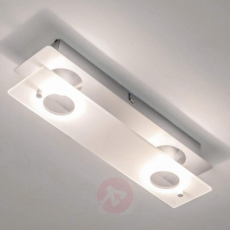 Filian LED ceiling lamp, 2-bulb - Ceiling Lights