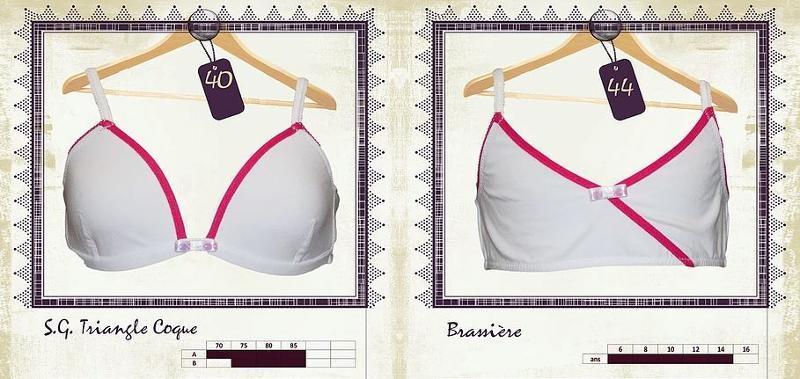 Soutien-gorge et brassière  - Lingerie pour Jeunes Femmes