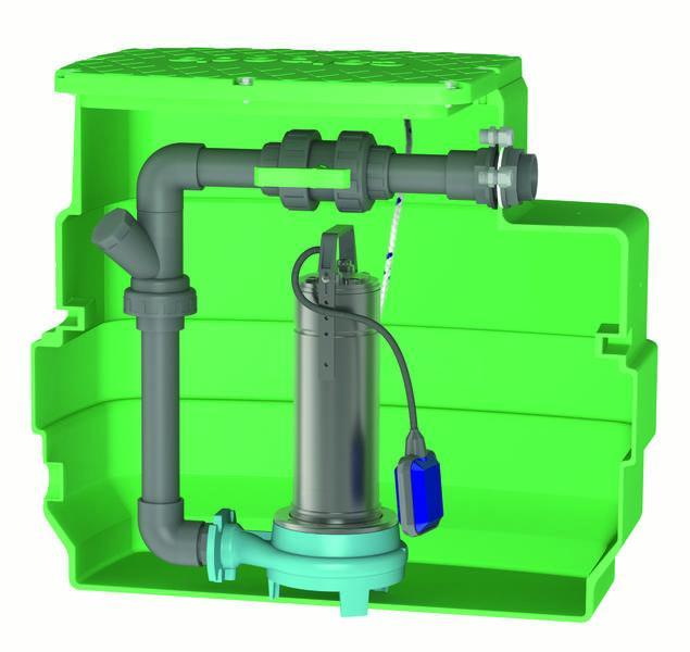 Postes de relevage eaux chargées - CAL230 GQG
