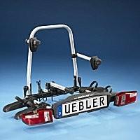 Fahrrad-Heckträger - Uebler Kupplungsträger F22 Alu mit EBE