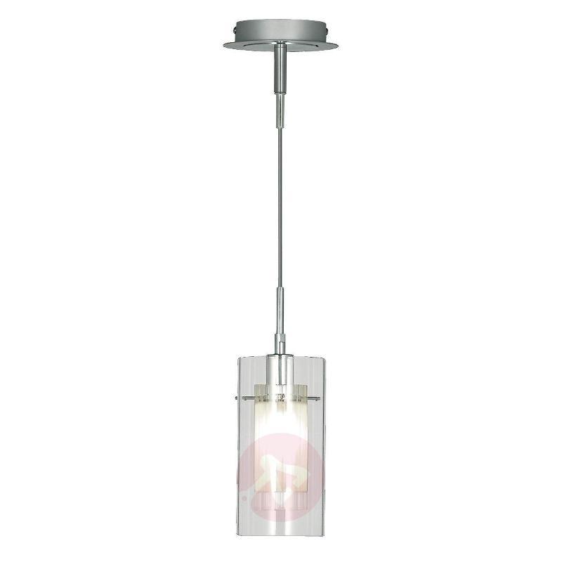 Decorative Duo 1 hanging light, 1-bulb - Pendant Lighting