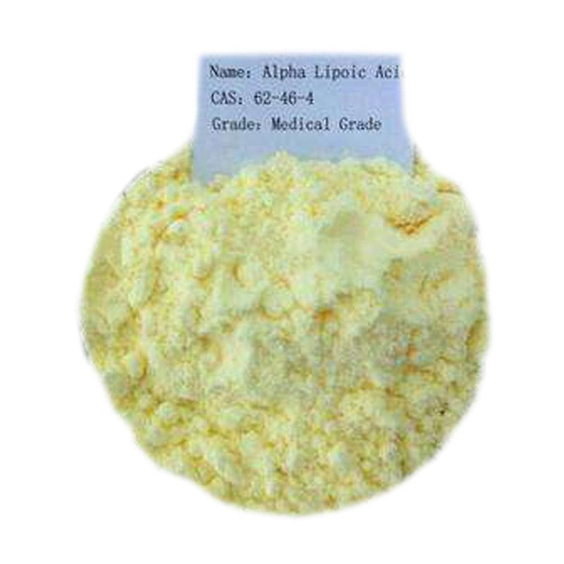 alpha lipoic acid Thioctic acid - Slightly yellow powder