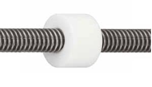 drylin®  Trapezoidal leadscrew nut  WSRM material iglidur® W300 Trapezoidal lead - null