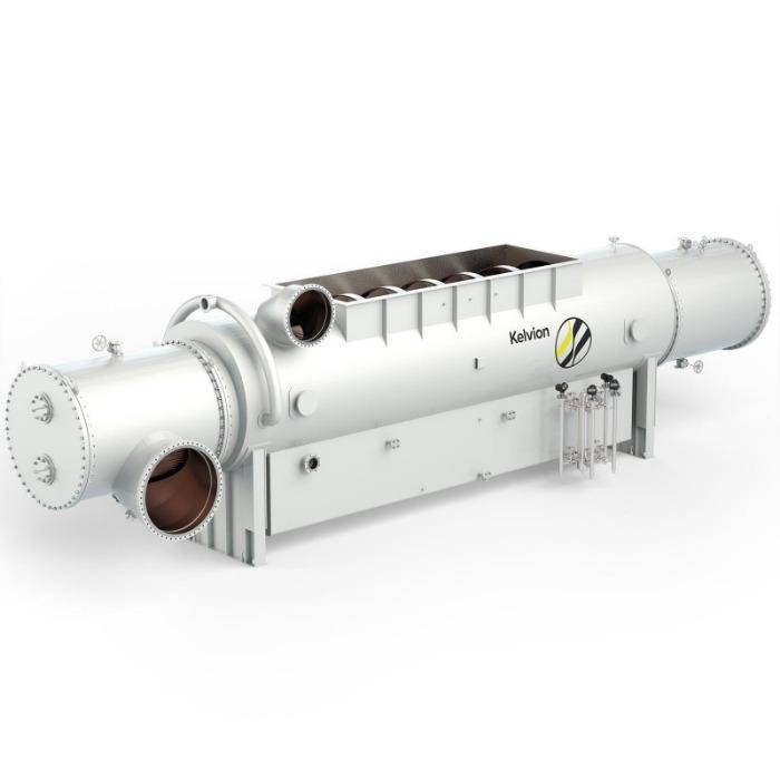 Condensador de vapor - Vapor de casco e tubo para um ciclo de vapor eficiente