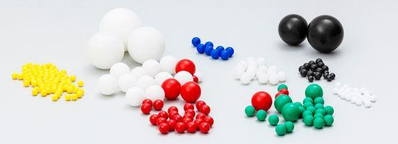 Kunststoffkugeln - null