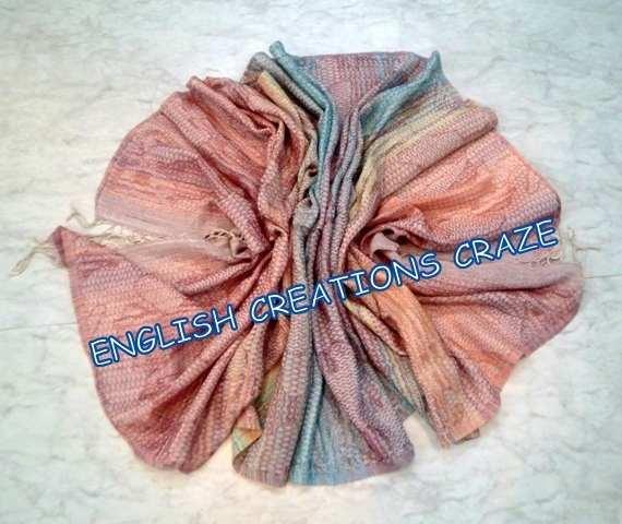 Wool Acrylic Printed Scarves - Wool Acrylic Printed Scarves