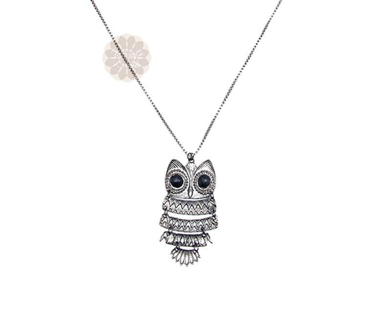 Owl pendant -