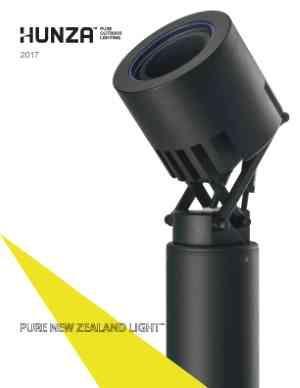 Hunza Pure Outdoor Lighting - Fabriquant d'appareils d'éclairage extérieur et architectural