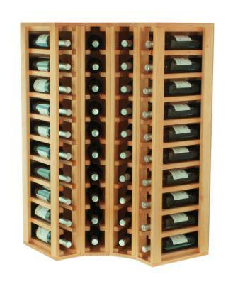 Botellero para esquina para 44 botellas