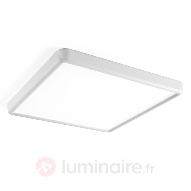 Plafonnier LED carré NET sans intensité variable - Plafonniers LED