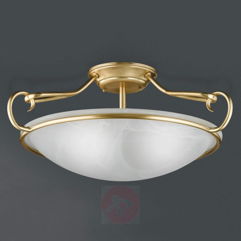 Como decorative ceiling light, matt brass - indoor-lighting