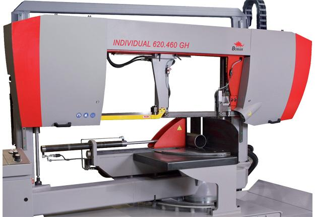 Scie à ruban semi-automatique  - INDIVIDUAL 620.460 GH