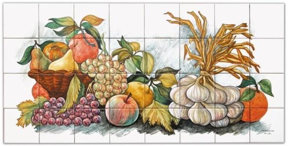 I Pannelli - Pannelli artistici - Fruttarolo cm 80x40