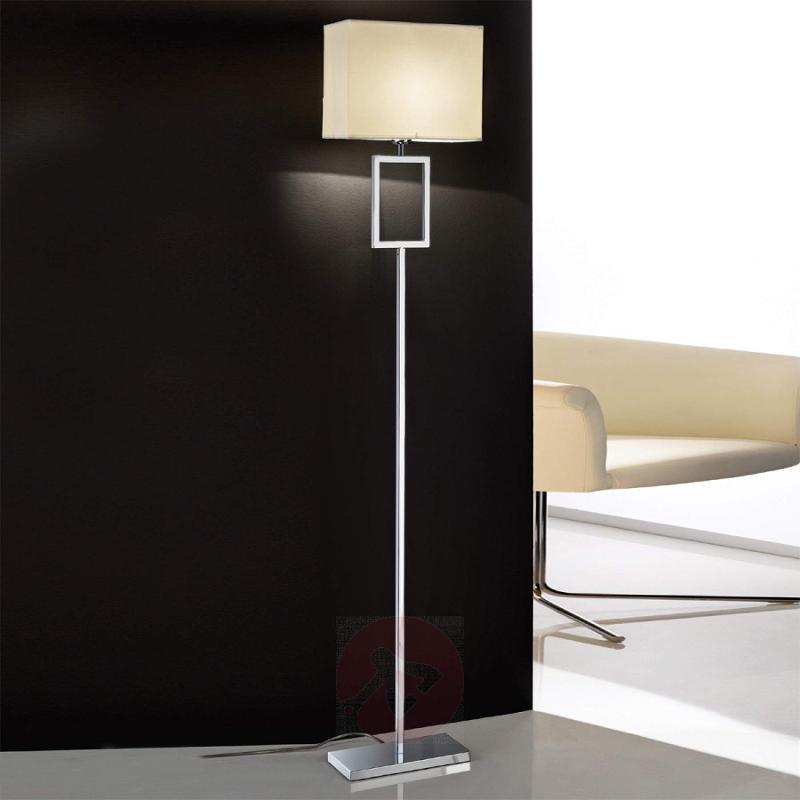 Renee Floor Lamp with Fabric Shade Beautiful - design-hotel-lighting