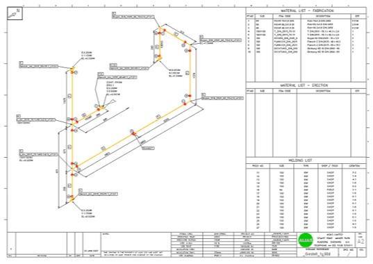 Plan isométrique -