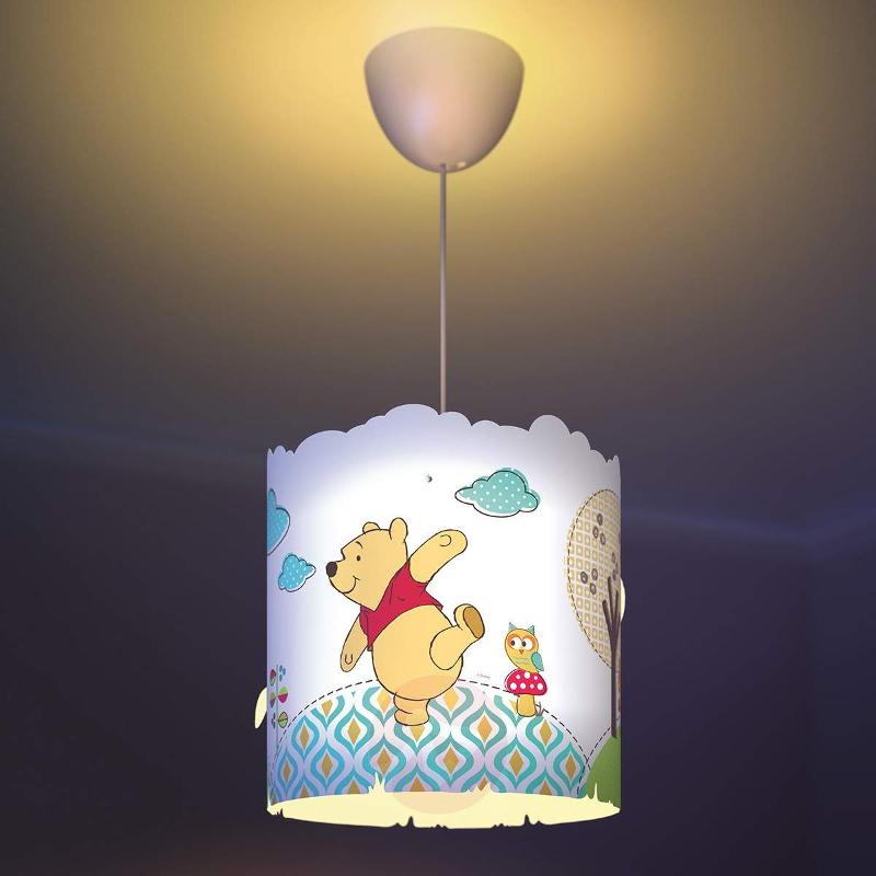Sweet Winnie the Pooh hanging light for children - Pendant Lighting