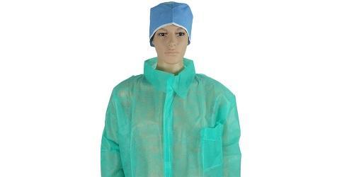 Лабораторный халат зеленый -