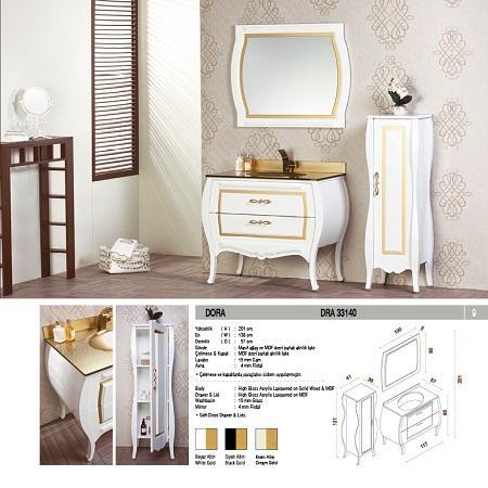Dora Bathroom Furniture Set