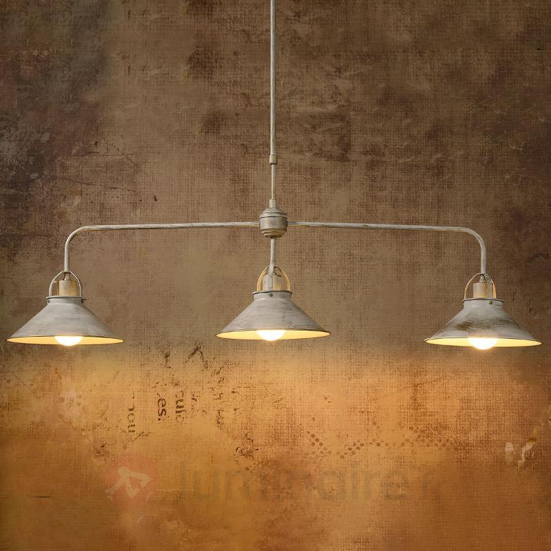 Suspension Berkley à 3 lampes - Cuisine et salle à manger