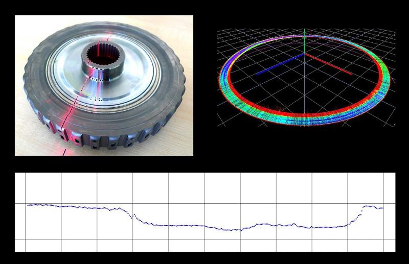 Inspection of a laser weld seam - Application - service