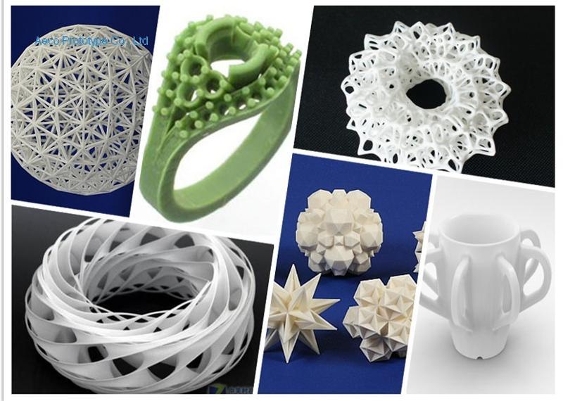 Artwares by 3D printing