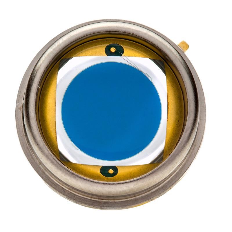 PIN Photodioden Serie 6b - PIN-Photodioden mit angehobener Empfindlichkeit im blauen Spektralbereich.