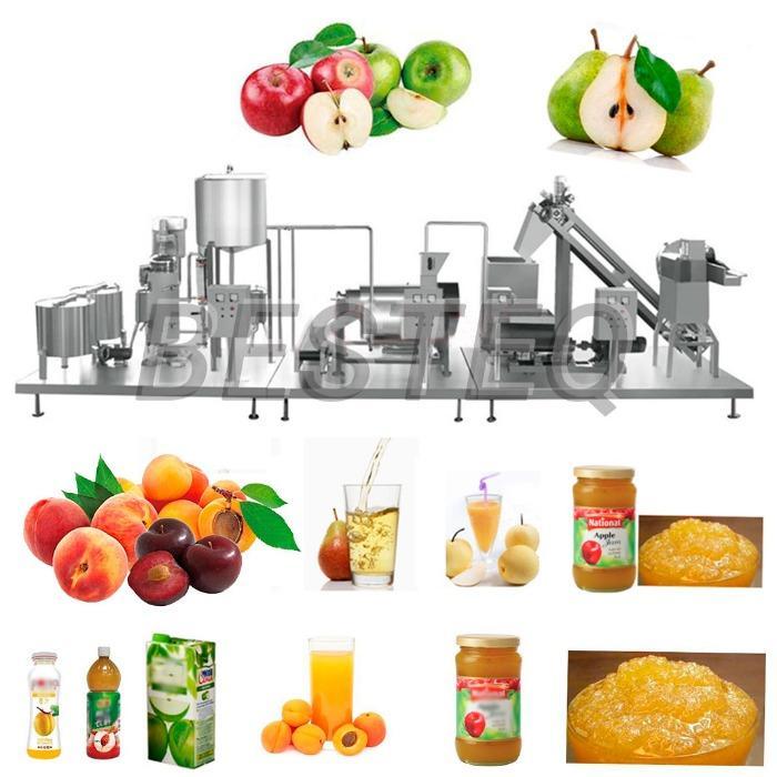 Универсальная линия производства соков, джемов, компотов, ке -