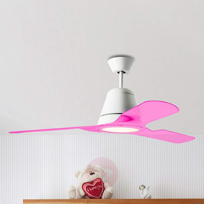 Pink blades for the Tiga ceiling fan fans LIGHTS CO UK Germany