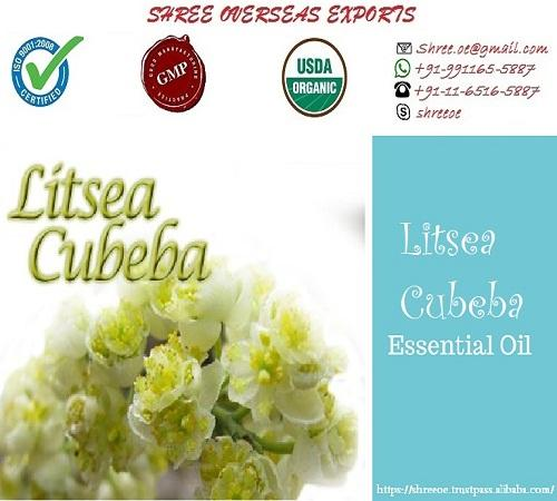 Organic Litsea Cubeba Oil - USDA Organic