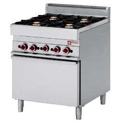 GAMME ALPHA 650 - COOKING RANGE GAS
