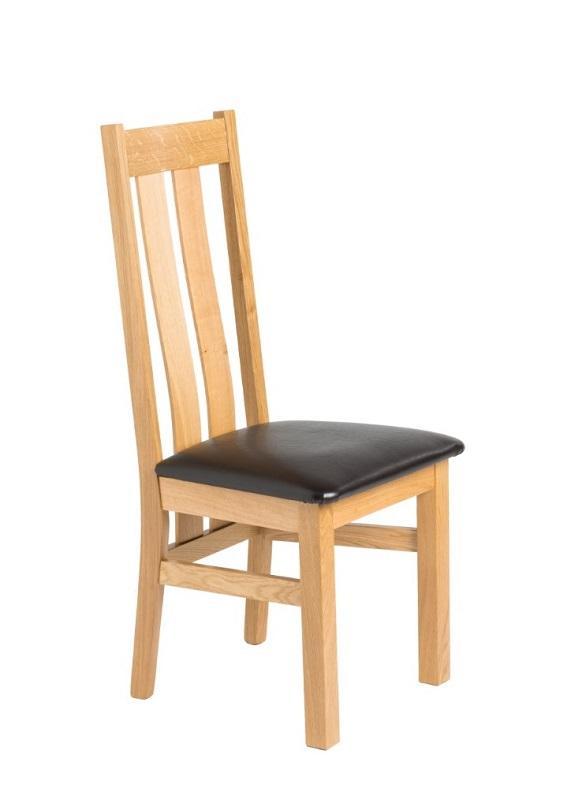 Oak chair Lucija -