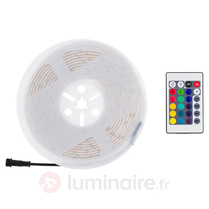 Ruban LED Outdoor changement de couleurs, 5 m - Rubans LED
