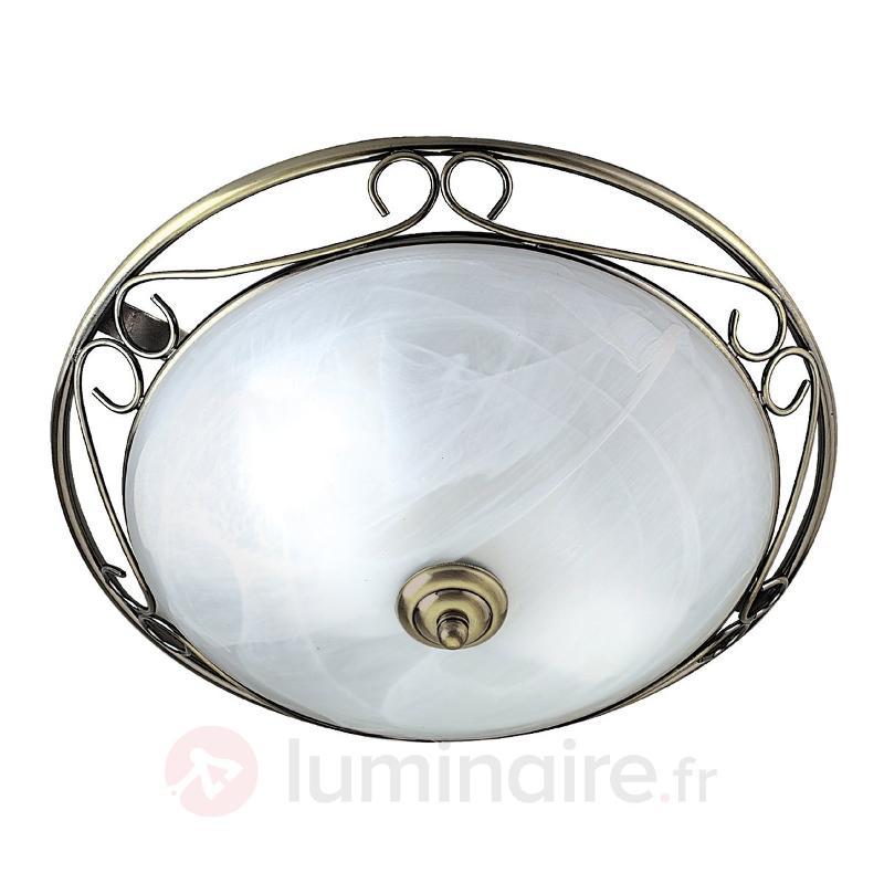 Plafonnier ANNEKE à résonnance romantique - Plafonniers classiques, antiques