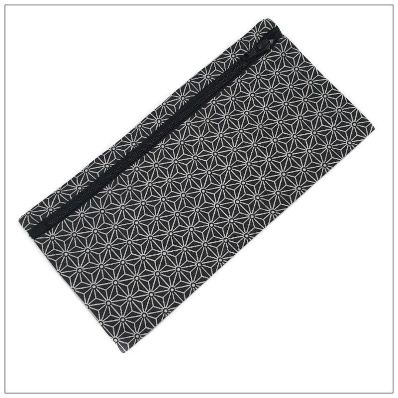 Pochette Pour Masque Géométrique Noir - null