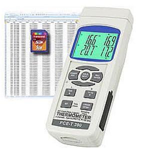 Termómetro de contacto - PCE-T390